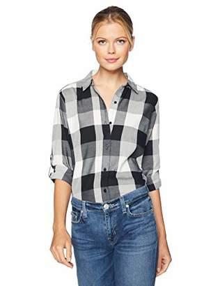 Lee Indigo Women's Plus Size Buffalo Plaid Shirt