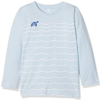 66e8ea21d79258 Name It Baby Boys' Nbmfanord Ls Top Long Sleeve (Cashmere Blue)