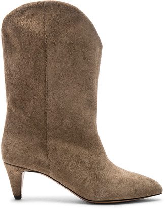 Isabel Marant Dernee Boot in Taupe | FWRD