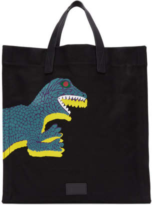 Paul Smith Black Large Dino Tote