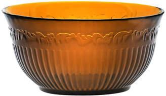 Mikasa Amber Glass Cereal Bowl