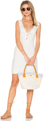 Marysia Swim Amagansett Tie Dress $363 thestylecure.com