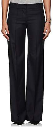 Barneys New York Women's Herringbone-Weave Wool Trousers
