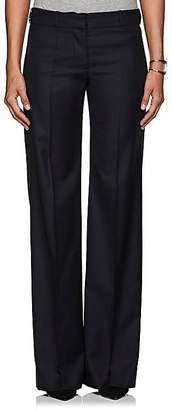 Barneys New York Women's Herringbone-Weave Wool Trousers