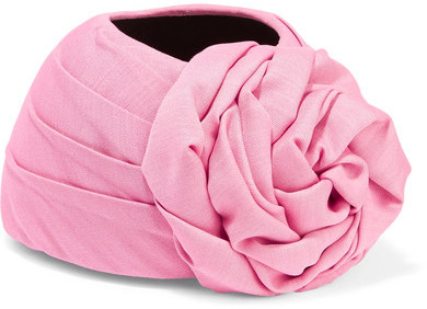 GucciGucci - Knotted Silk And Wool-blend Turban - Pink