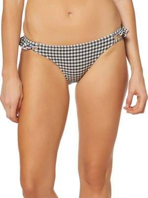 Jessica Simpson Ruffle Strapped Bikini Bottom