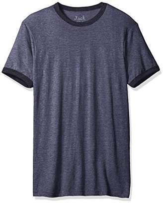 Jack of all Trades Men's Triblend Ringer T-Shirt