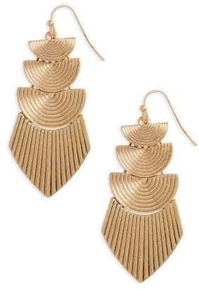 Women's Panacea Drop Earrings $18 thestylecure.com
