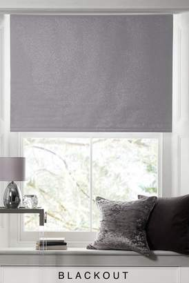 Next Glitter Blackout Roller Blind