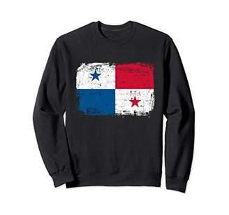 Panama Flag Sweatshirt istressed Vintage