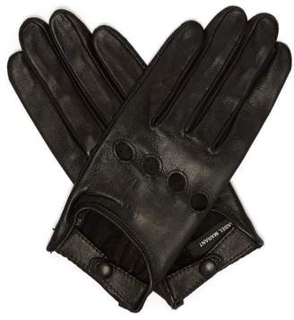 Isabel Marant Leather Gloves - Womens - Black