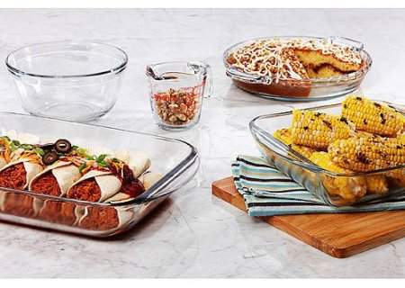 Anchor Hocking 5-Piece Basic Bakeware Set