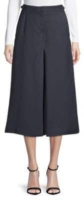 Gabriela Hearst Eleanor Wide-Leg Riding Pants