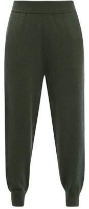 Extreme Cashmere - No.56 Yogi Cashmere Blend Track Pants - Womens - Khaki