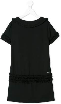 DSQUARED2 ruffled shift dress