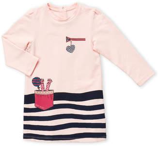 Little Marc Jacobs Toddler Girls) Marc Logo Long Sleeve Dress
