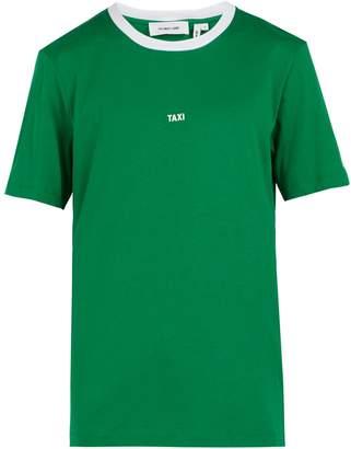 Helmut Lang Taxi-print cotton-jersey T-shirt