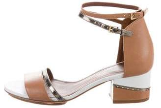 Maiyet Colorblock Leather Sandals