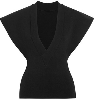 Jacquemus - Mercerized Cotton Top - Black $570 thestylecure.com
