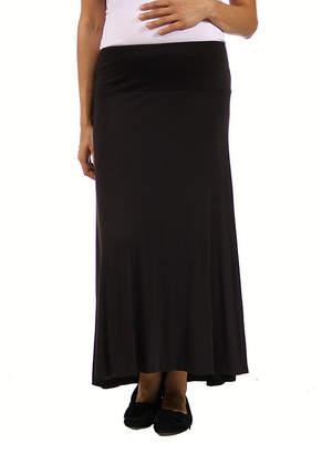 24/7 Comfort Apparel Womens Maxi Skirt - Plus Maternity