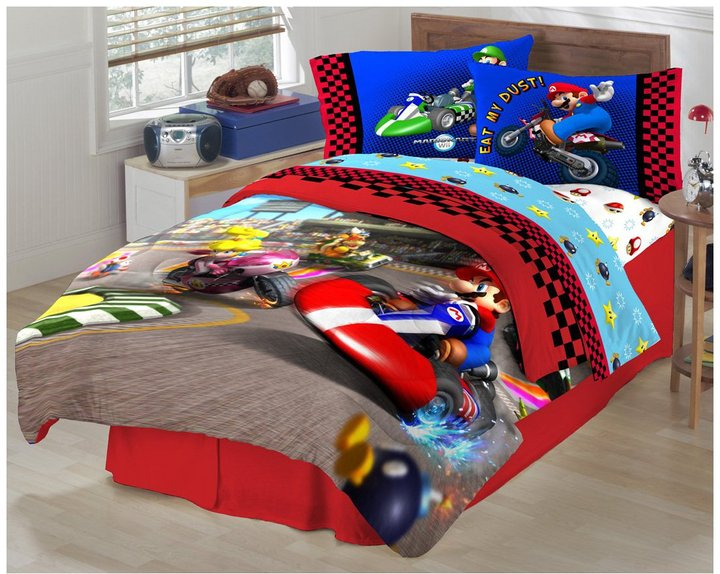 Nintendo Super Mario The Race Is On Sheet Set, Twin