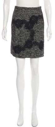 Dolce & Gabbana Lace-Accented Mini Skirt
