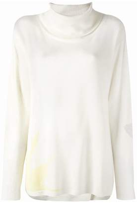 Tsumori Chisato star print roll neck top
