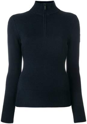 Rossignol zipped fitted sweater