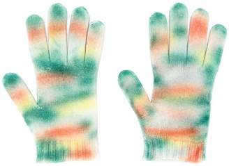 Missoni printed gloves