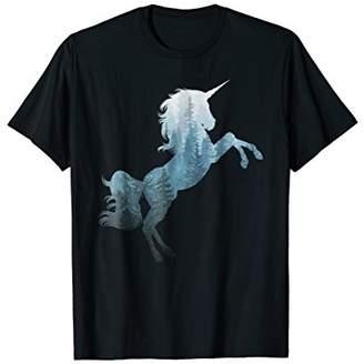 My Misty Forest Unicorn T Shirt Design