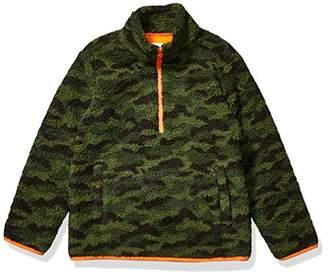 Amazon Essentials Boy's Quarter-Zip High-Pile Polar Fleece Jacket