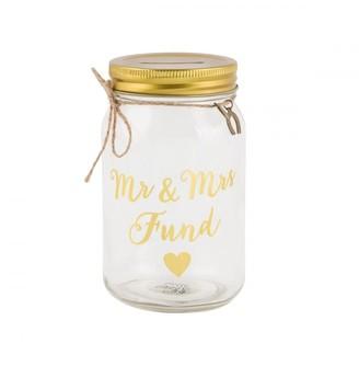 Sass & Belle Mr & Mrs Money Jar