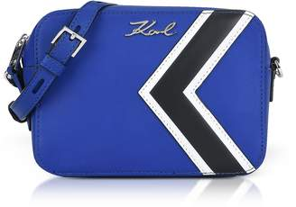 Karl Lagerfeld K/Stripes Camera Bag