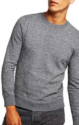Topman Classic Fit Twist Crewneck Sweater