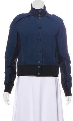 Morgane Le Fay Hooded Paneled Jacket
