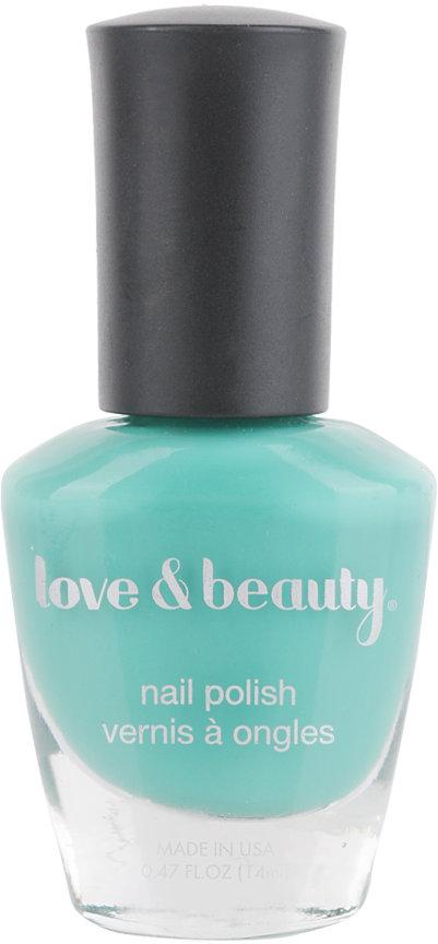 Love 21 Sea Grass Nail Polish