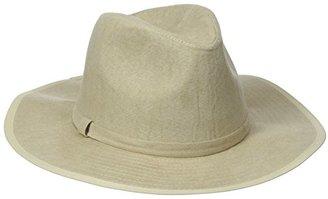 Collection XIIX Women's Faux Suede Panama Hat $13.03 thestylecure.com