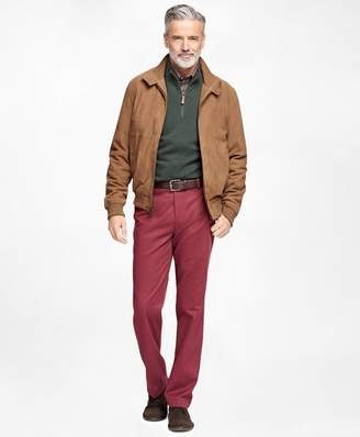 Brooks Brothers Suede Barracuda Jacket