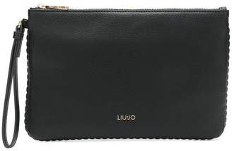 Liu Jo Fairies Nights weave trim pouch wjO8D6zUS