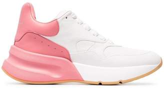 Alexander McQueen contrast low-top sneakers