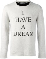 Neil Barrett 'I have a dream'毛衣