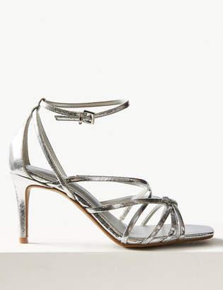 94dc0090d Silver Stiletto Heel Sandals For Women - ShopStyle Australia