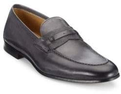 cd2e8bb99db ... Saks Fifth Avenue COLLECTION BY MAGNANNI Tri-Media Penny Loafers