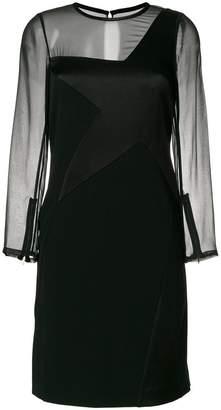 Karl Lagerfeld star patch dress