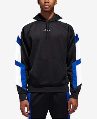 adidas Men's Equipment Colorblocked-Sleeve Hoodie