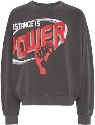 Willy Chavarria Resistance is Power Barranco Sweatshirt