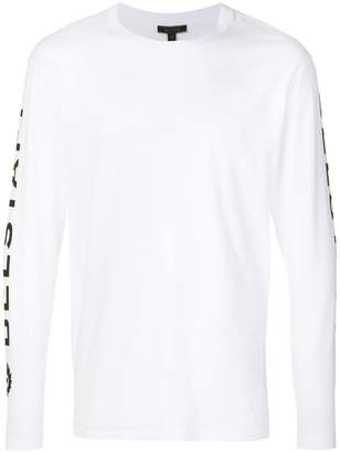 Belstaff Bratton long sleeve logo T-shirt