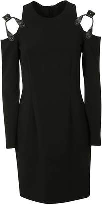 Moschino Harness Exposed Shoulder Dress