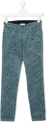 Stella McCartney Nina planet print trousers
