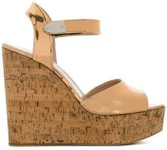 Giuseppe Zanotti Design metallic wedge sandals